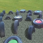 Bonded Rubber Bark for Play Areas in South Yorkshire 2