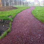 Bonded Rubber Bark for Play Areas in South Yorkshire 5