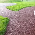Bonded Rubber Bark for Play Areas in Carmarthenshire 11
