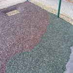 Bonded Rubber Bark for Play Areas in Carmarthenshire 5