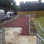 Bonded Rubber Bark for Play Areas in South Yorkshire 11
