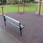 Bonded Rubber Bark for Play Areas in South Yorkshire 8