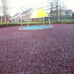 Bonded Rubber Bark for Play Areas in South Yorkshire 6