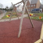 Bonded Rubber Bark for Play Areas in North Yorkshire 12